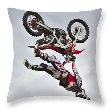Flying Inverted Throw Pillow