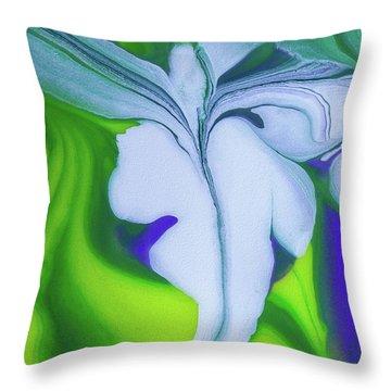 Flying Lizard Vertical Throw Pillow