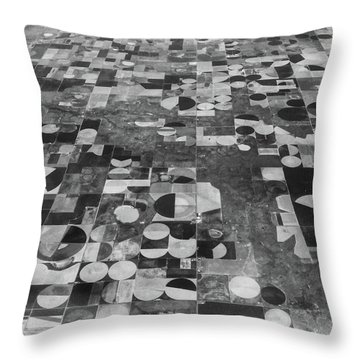 Flying Over - Art By Linda Woods Throw Pillow