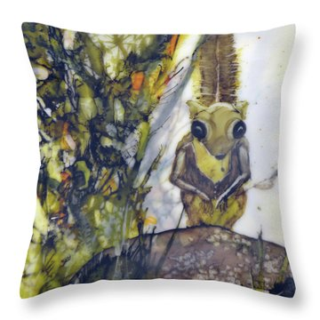 Flying Squirrel Throw Pillow