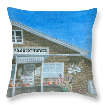 F.o. Goldthwaite Throw Pillow