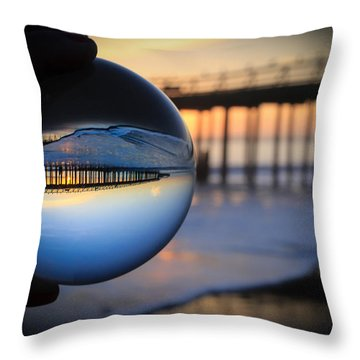 Foamy Ball Throw Pillow