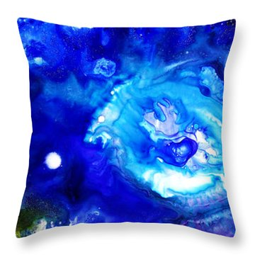 Focal Epilepsy Throw Pillow