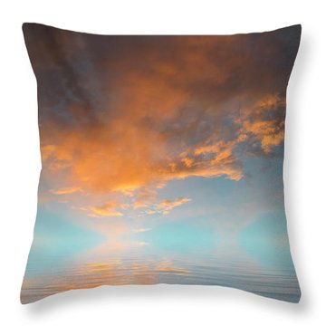 Focal Point Throw Pillow by Jerry McElroy