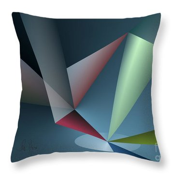Focus Throw Pillow by Leo Symon