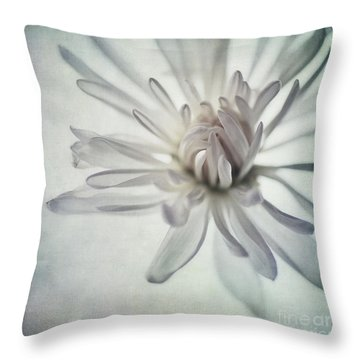 Focus On The Heart Throw Pillow by Priska Wettstein