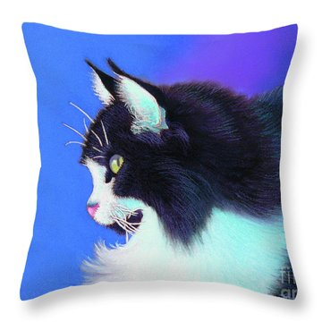 Focus Throw Pillow by Tracy L Teeter