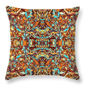 Focused Presence Throw Pillow