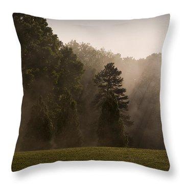 Fog Dance Throw Pillow