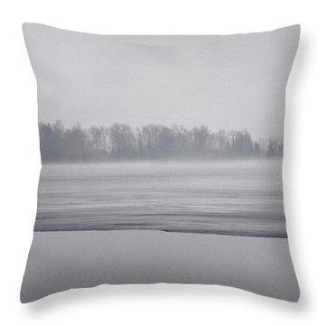 Fog Light Throw Pillow