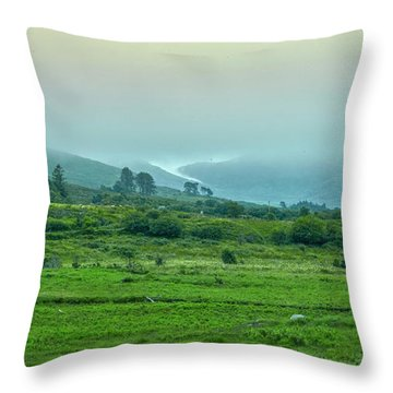 Foggy Day #g0 Throw Pillow