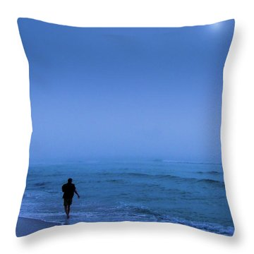 Foggy  Throw Pillow