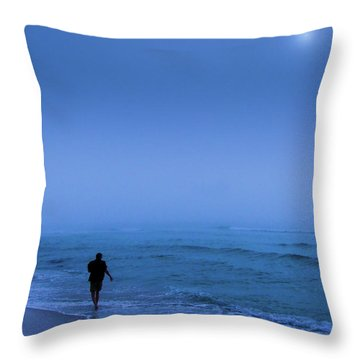 Foggy  Throw Pillow