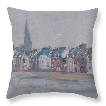 Foggy Wyck Throw Pillow