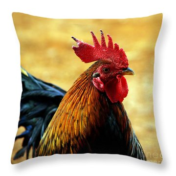Foghorn I Throw Pillow by Patricia Griffin Brett