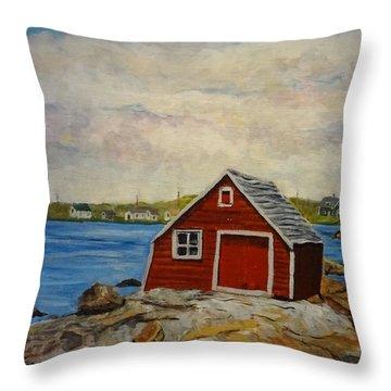 Fogo Throw Pillow by Diane Arlitt