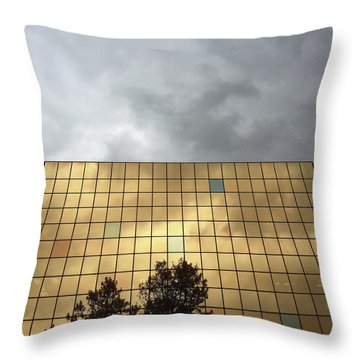 Foil Throw Pillow