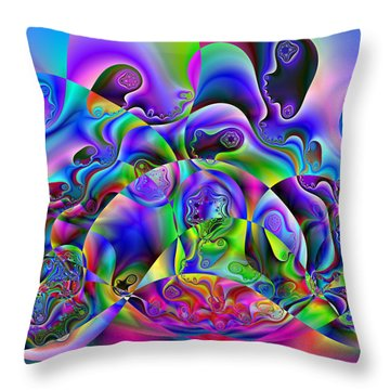 Foistences Throw Pillow