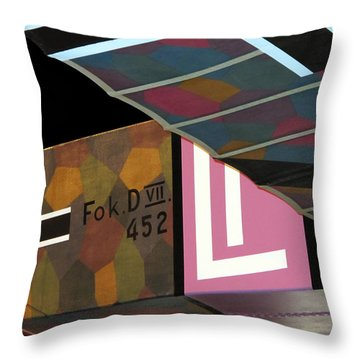 Fokker D Vii Throw Pillow