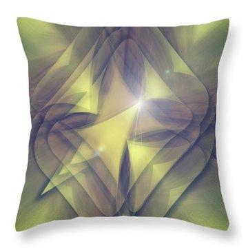 Folded Flower 1 Throw Pillow