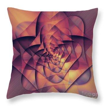 Folded Flower 2 Throw Pillow