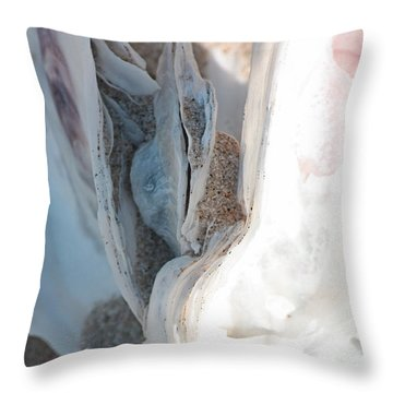 Folds Throw Pillow