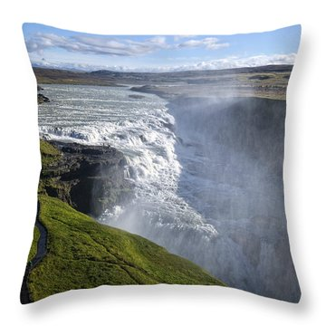 Follow Life's Path Throw Pillow