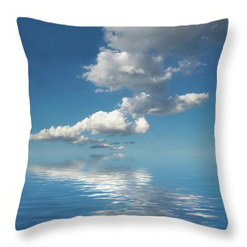 Follow Me Throw Pillow by Jerry McElroy