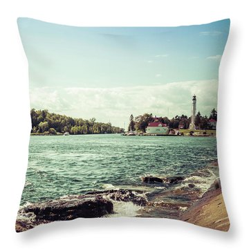 Throw Pillow featuring the photograph Follow Me Now by Joel Witmeyer