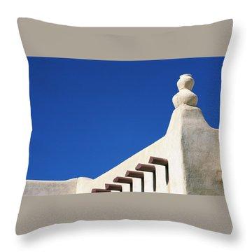 Follow The Cairn Throw Pillow
