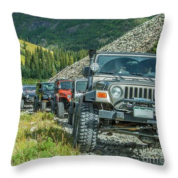 Follow The Leader Throw Pillow