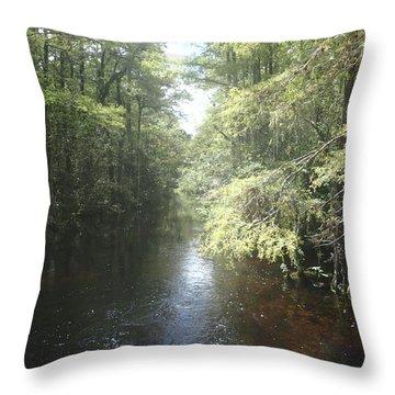 Follow The Light Throw Pillow