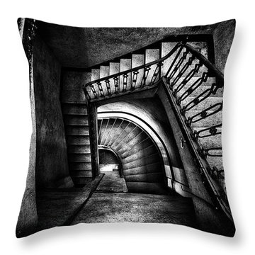 Throw Pillow featuring the photograph Follow The Light by Dirk Ercken