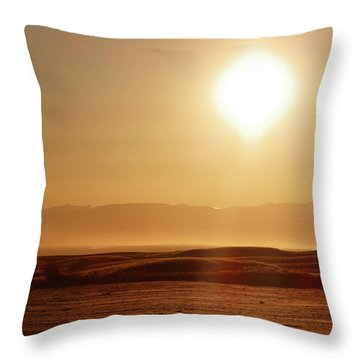 Follow The Sun Throw Pillow