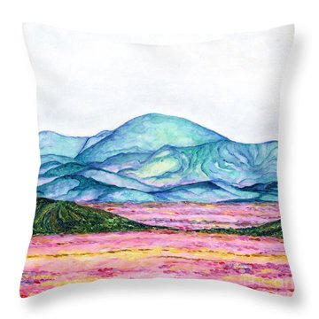 Follow Your Feelings Throw Pillow
