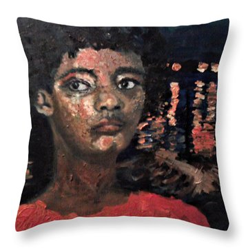 Following The Drinking Gourd Throw Pillow