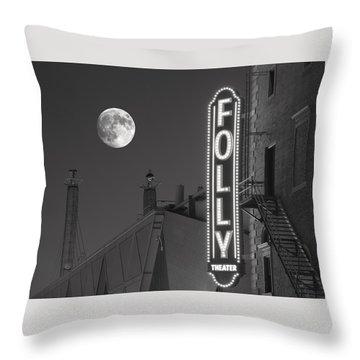 Folly Theatre Kansas City Throw Pillow