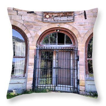 Folsom Hotel Throw Pillow