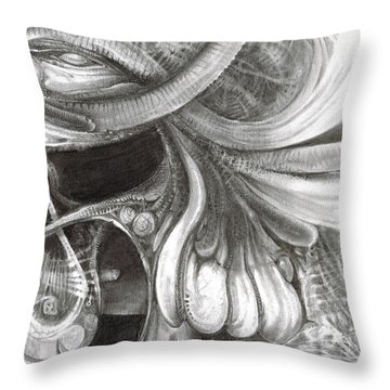 Fomorii Pod Throw Pillow by Otto Rapp