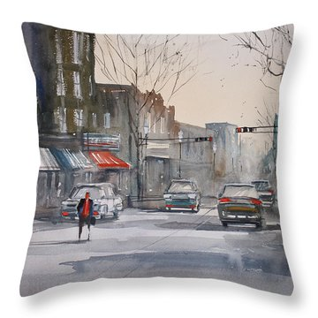 Fond Du Lac Revisited Throw Pillow by Ryan Radke