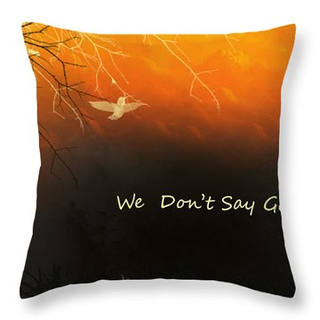 Fond Thoughts Throw Pillow