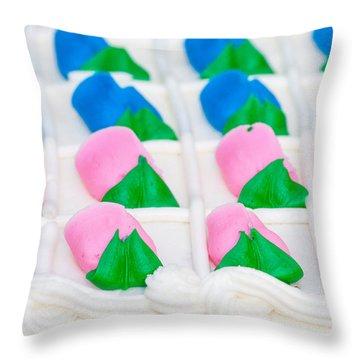 Fondant Close-up Throw Pillow