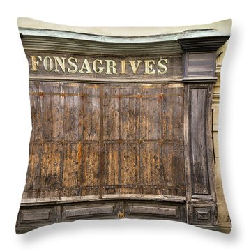 Fonsagrives In Saint-antonin-noble-val Throw Pillow by RicardMN Photography
