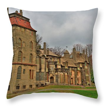 Fonthill Castle Throw Pillow