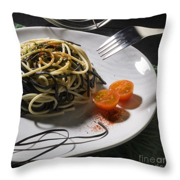 Food Throw Pillow