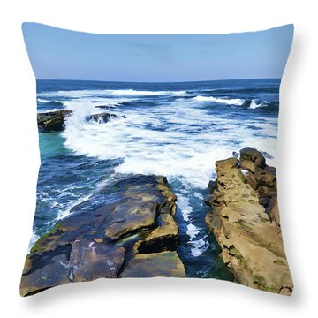 Food For The Soul Throw Pillow