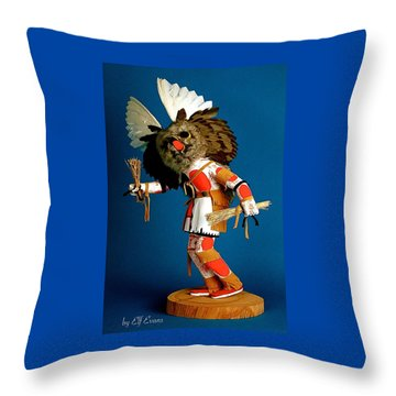 Fool Me Once Shame On Me Throw Pillow by Elf Evans