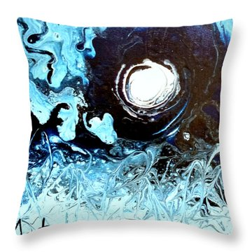Fool Moon Throw Pillow