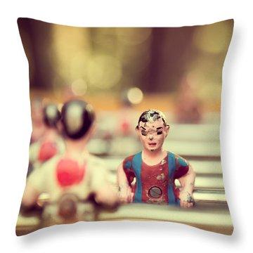 Foosball Throw Pillow