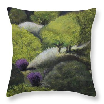 Foothill Spring Throw Pillow